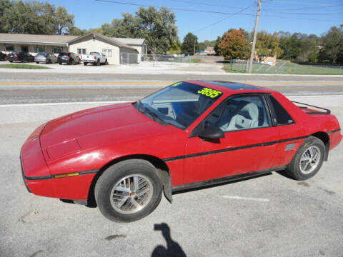 1984 Pontiac Fiero for sale at John's Auto Sales in Council Bluffs IA