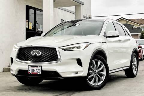 2021 Infiniti QX50 for sale at Fastrack Auto Inc in Rosemead CA