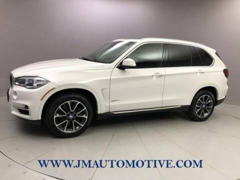 2018 BMW X5 for sale at J & M Automotive in Naugatuck CT