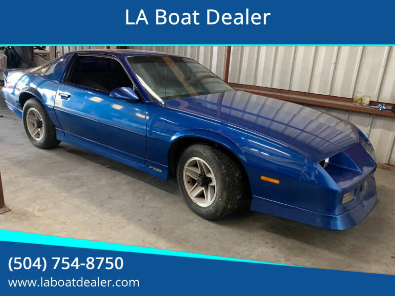1990 Chevrolet Camaro for sale at LA Boat Dealer in Metairie LA