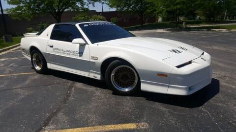 1989 Pontiac Firebird for sale at SPECIALTY VEHICLE SALES INC in Skokie IL