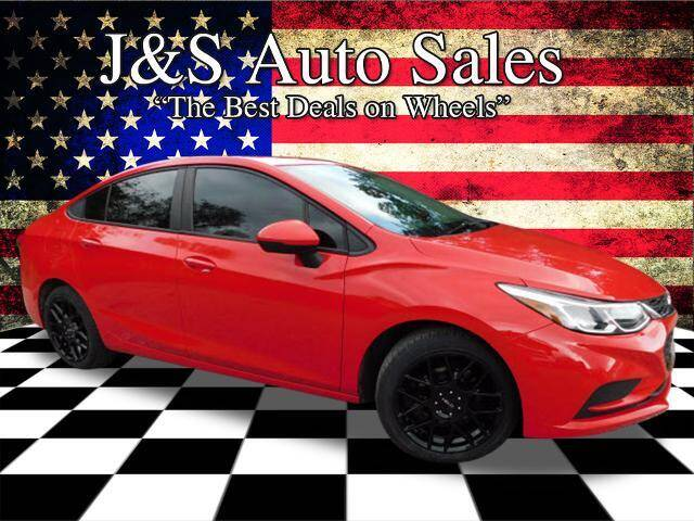 2016 Chevrolet Cruze for sale at J & S Auto Sales in Clarksville TN
