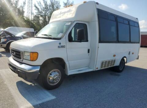 2007 Ford E-Series Chassis for sale at Goval Auto Sales in Pompano Beach FL