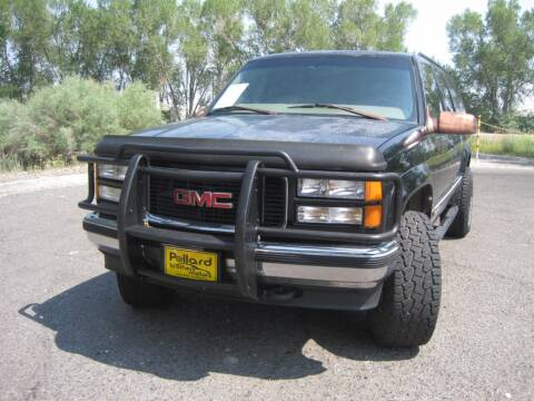 1998 GMC Suburban for sale at Pollard Brothers Motors in Montrose CO
