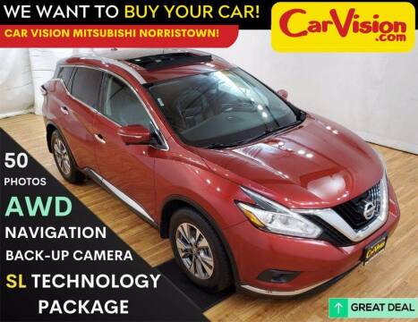 2015 Nissan Murano for sale at Car Vision Mitsubishi Norristown in Trooper PA