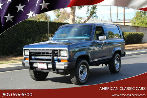1984 Ford Bronco II for sale at American Classic Cars in La Verne CA