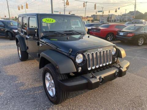 2014 Jeep Wrangler Unlimited for sale at Sell Your Car Today in Fayetteville NC