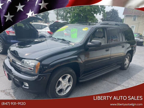 2006 Chevrolet TrailBlazer EXT for sale at Liberty Auto Sales in Elgin IL
