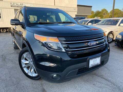 2013 Ford Explorer for sale at KAYALAR MOTORS in Houston TX