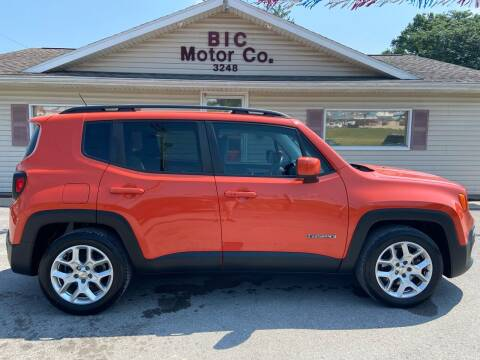 2015 Jeep Renegade for sale at Bic Motors in Jackson MO