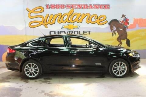 2018 Ford Fusion Energi for sale at Sundance Chevrolet in Grand Ledge MI