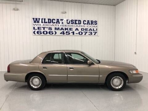 2002 Mercury Grand Marquis for sale at Wildcat Used Cars in Somerset KY