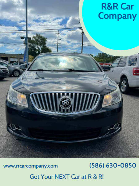 2010 Buick LaCrosse for sale at R&R Car Company in Mount Clemens MI