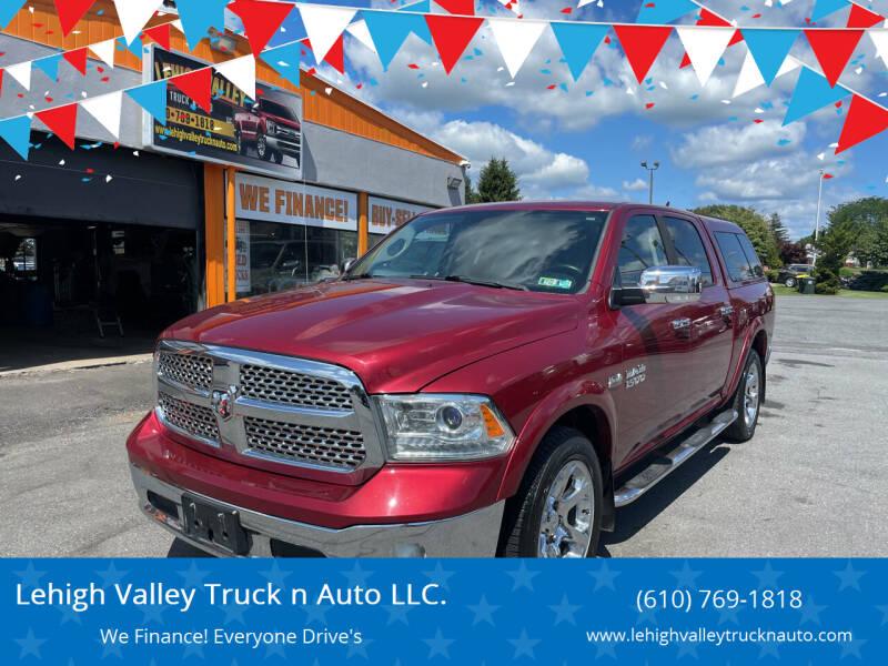 2015 RAM Ram Pickup 1500 for sale at Lehigh Valley Truck n Auto LLC. in Schnecksville PA