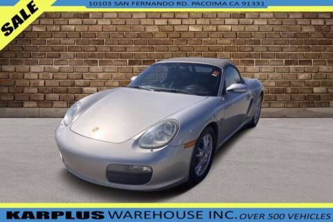 2007 Porsche Boxster for sale at Karplus Warehouse in Pacoima CA