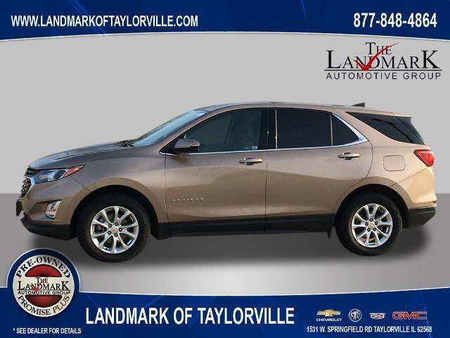 2018 Chevrolet Equinox for sale at LANDMARK OF TAYLORVILLE in Taylorville IL