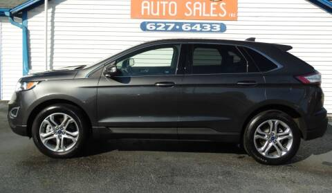 2018 Ford Edge for sale at Leo Auto Sales in Leo IN