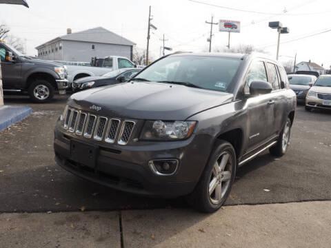 2014 Jeep Compass for sale at Scheuer Motor Sales INC in Elmwood Park NJ
