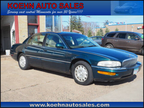 1998 Buick Park Avenue for sale at Koehn Auto Sales in Lindstrom MN