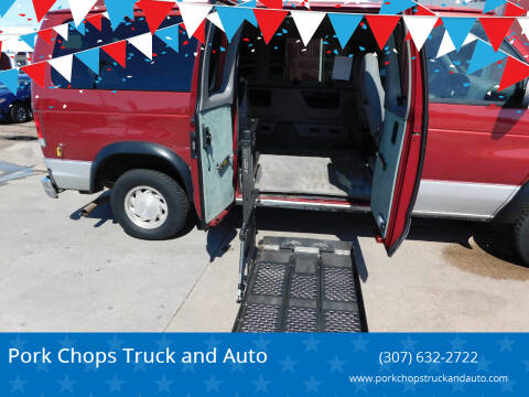 2000 Ford E-150 for sale at Pork Chops Truck and Auto in Cheyenne WY