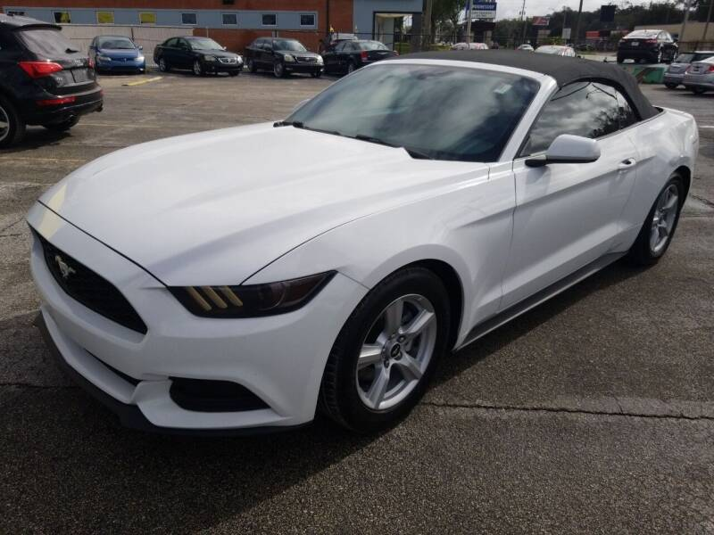 2016 Ford Mustang for sale at Castle Used Cars in Jacksonville FL