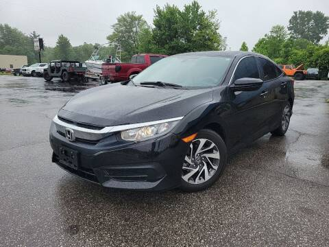 2018 Honda Civic for sale at Cruisin' Auto Sales in Madison IN