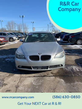 2005 BMW 5 Series for sale at R&R Car Company in Mount Clemens MI