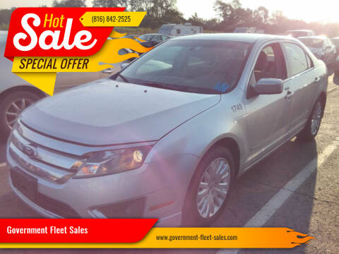 2012 Ford Fusion Hybrid for sale at Government Fleet Sales in Kansas City MO