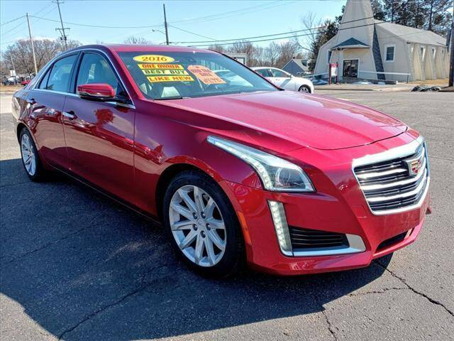 2016 Cadillac CTS for sale at Royal AutoTec in Battle Creek MI
