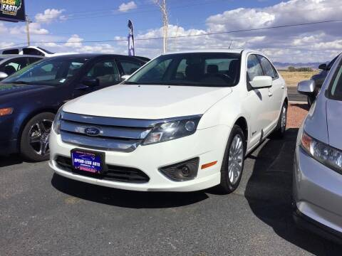 2012 Ford Fusion Hybrid for sale at SPEND-LESS AUTO in Kingman AZ
