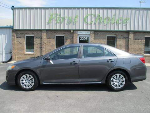 2012 Toyota Camry for sale at First Choice Auto in Greenville SC