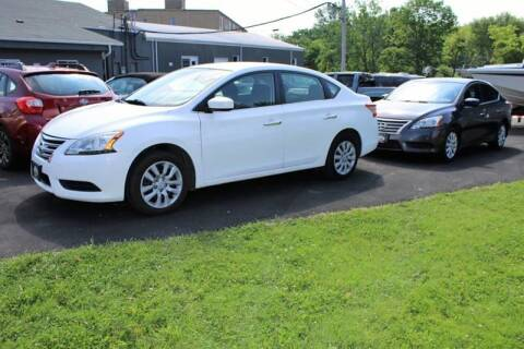 2014 Nissan Sentra for sale at Great Lakes Classic Cars & Detail Shop in Hilton NY