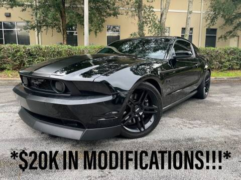 2010 Ford Mustang for sale at CARPORT SALES AND  LEASING in Oviedo FL