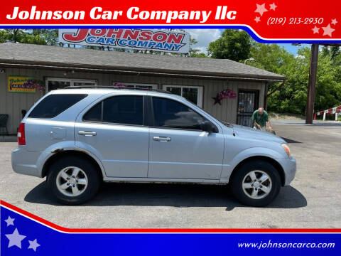 2008 Kia Sorento for sale at Johnson Car Company llc in Crown Point IN