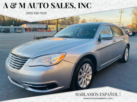 2013 Chrysler 200 for sale at A & M Auto Sales, Inc in Alabaster AL