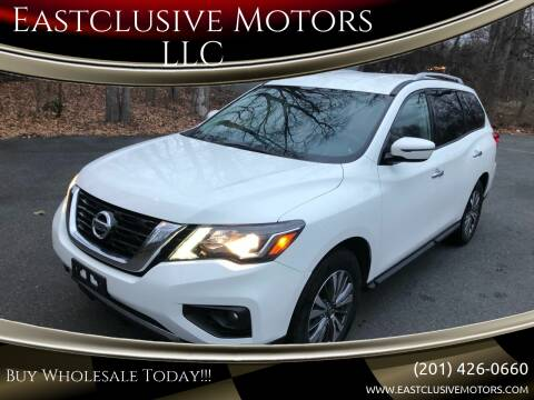 2018 Nissan Pathfinder for sale at Eastclusive Motors LLC in Hasbrouck Heights NJ
