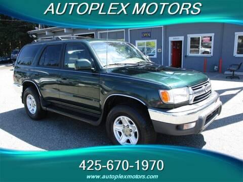 2001 Toyota 4Runner for sale at Autoplex Motors in Lynnwood WA