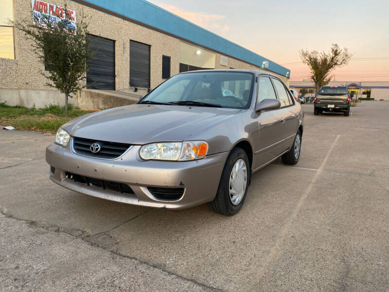 2002 Toyota Corolla for sale at BJ International Auto LLC in Dallas TX