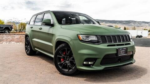 2017 Jeep Grand Cherokee for sale at MUSCLE MOTORS AUTO SALES INC in Reno NV