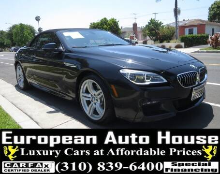 2016 BMW 6 Series for sale at European Auto House in Los Angeles CA
