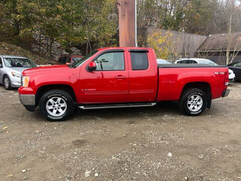 2007 GMC Sierra 1500 for sale at Compact Cars of Pittsburgh in Pittsburgh PA