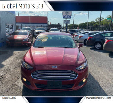 2014 Ford Fusion for sale at Global Motors 313 in Detroit MI