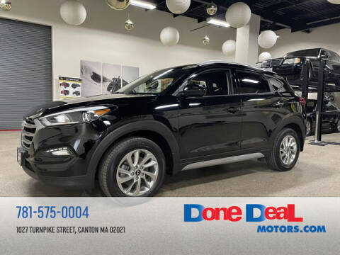 2018 Hyundai Tucson for sale at DONE DEAL MOTORS in Canton MA
