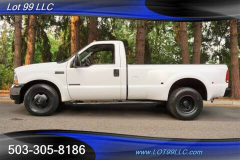 2002 Ford F-350 Super Duty for sale at LOT 99 LLC in Milwaukie OR