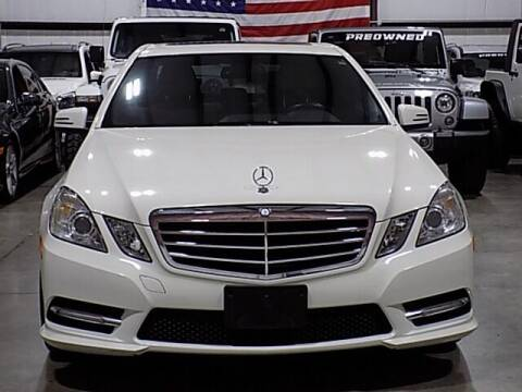 2012 Mercedes-Benz E-Class for sale at Texas Motor Sport in Houston TX