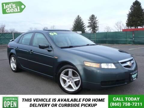 2004 Acura TL for sale at Shamrock Motors in East Windsor CT