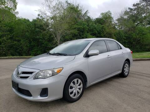 2011 Toyota Corolla for sale at Houston Auto Preowned in Houston TX