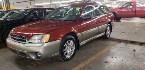 2004 Subaru Outback for sale at A-1 Auto in Pepperell MA