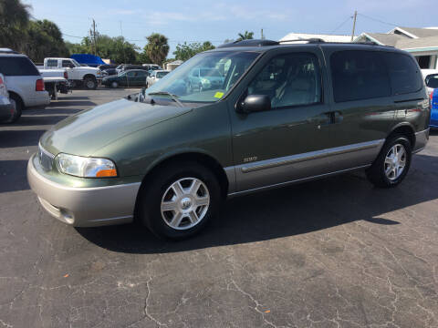 2002 Mercury Villager for sale at CAR-RIGHT AUTO SALES INC in Naples FL