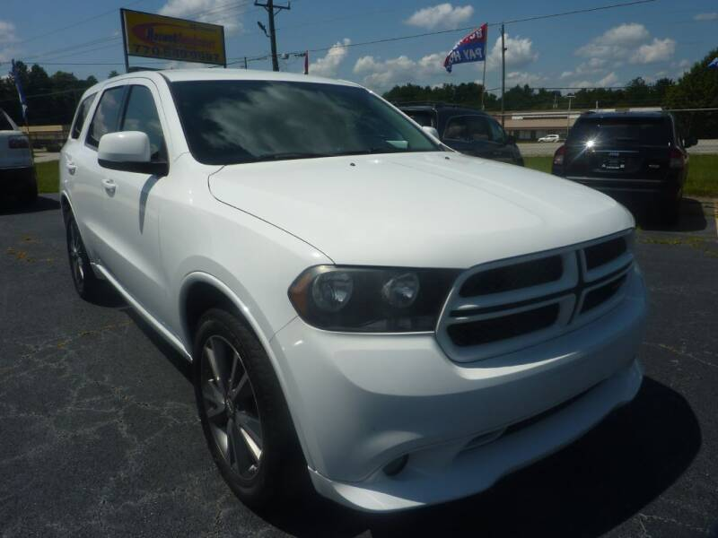 2013 Dodge Durango for sale at Roswell Auto Imports in Austell GA